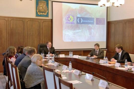 Презентація проекту Європейського Союзу