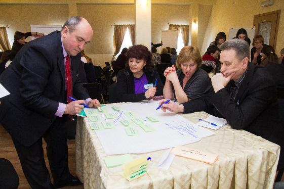 """Результати форуму у форматі """"світового кафе"""" """"СИЛЬНІШЕ РАЗОМ: зміцнення діалогу і соціальної згуртованості в місцевих громадах"""""""